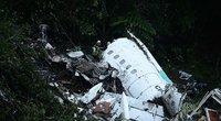Paviešino pirmąsias nuotraukas po lėktuvo katastrofos (nuotr. SCANPIX)