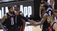"""Žvaigždžių dueto vedama """"Clippers"""" sušvelnino serijos rezultatą. (nuotr. SCANPIX)"""