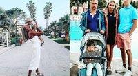 Gerda Žemaitė išvyko atostogauti su šeimą į Turkiją (nuotr. Instagram)