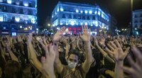 Protestas Ispanijoje (nuotr. SCANPIX)