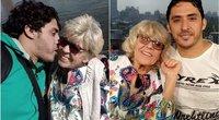 81-erių Iris ir 36-erių jos vyras Mohamedas (nuotr. facebook.com)