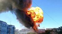 Novosibirske nugriaudėjo sprogimas: gaisre nudegė bent 17 žmonių (nuotr. stop kadras)