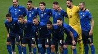 Anglijos ir Italijos mačo momentai. (nuotr. SCANPIX)