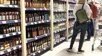 Alkoholio skyrius (nuotr. stop kadras)