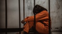 Moteris kalėjime (nuotr. Shutterstock.com)