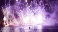 Prancūzija triukšmingai uždarė nacionalinę šventę: per šalį nuvilnijo įspūdingas fejerverkų šou (nuotr. stop kadras)