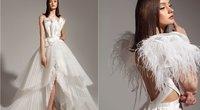 Raimondos Silės sukurta suknelė