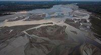 Nusekusi Vistulos upė Lenkijoje (nuotr. SCANPIX)