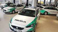 """Pasižvalgykite: policijos """"šeimą"""" papildė per 100 naujų automobilių (nuotr. Fotodiena/Justino Auškelio)"""