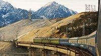 Vienas iš planuojamų projektų yra ir Transsibiro geležinkelis (nuotr. Vida Press)