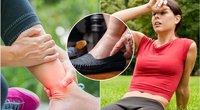 Gydytoja pataria, kaip kovoti su kojų tinimu (tv3.lt fotomontažas)