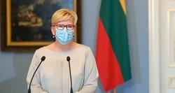 Šimonytė apie sankcijas Baltarusijai: niekas negali būti išbraukta