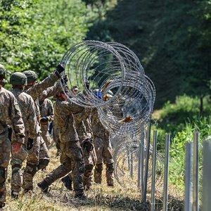 Lietuvos kariuomenė didina karių skaičių: sieks suvaldyti nelegalią migraciją
