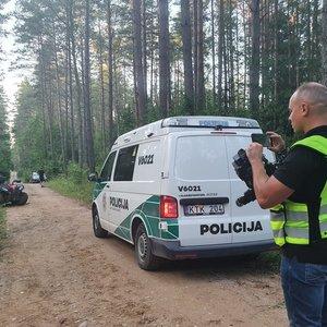 Nelaimė Trakų rajone – žuvo jaunas keturračio vairuotojas