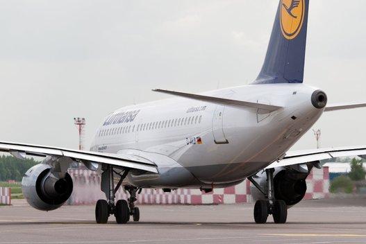 Lufthansa, oro uostas Fotodiena.lt/Karolis Kavolėlis