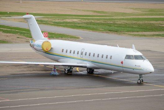 Lėktuvas (nuotr. Fotodiena/Justino Auškelio)