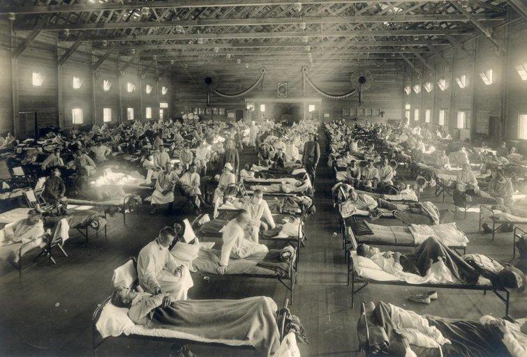 Ispaniškasis gripas  (nuotr. Wikipedia)