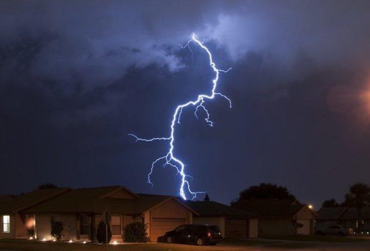 Žaibas (nuotr. shutterstock.com)