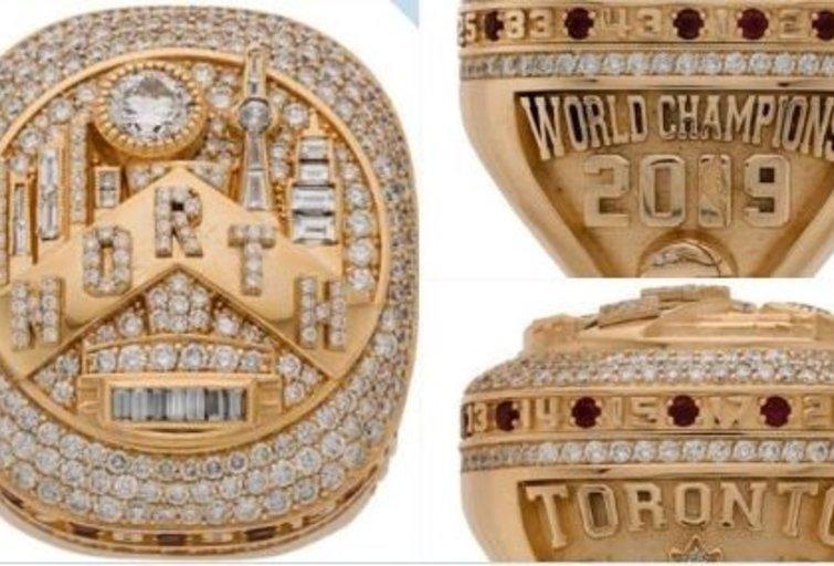 NBA čempiono žiedas. (nuotr. Twitter)