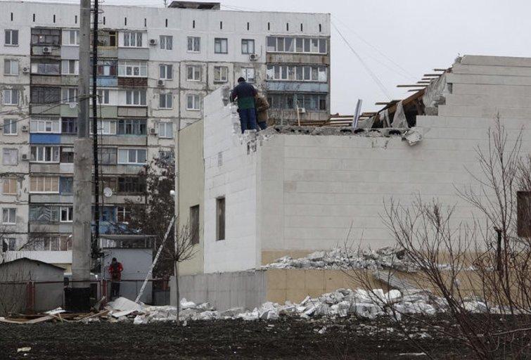 Raketų atakos Mariupolyje taikinys buvo civiliai gyventojai, sako JT (nuotr. SCANPIX)