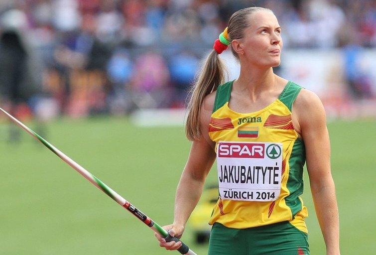 Indrė Jakubaitytė pagerino pasaulio rekordą (nuotr. Irmanto Sidarevičiaus)