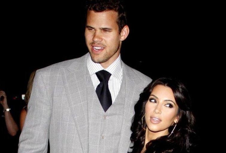 Kim Kardashian ir Kris Humphres (nuotr. Vida Press)