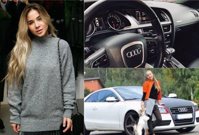 """Milita Daikerytė parduoda išskirtinio dizaino """"Audi"""" automobilį (nuotr. asm. archyvo)"""