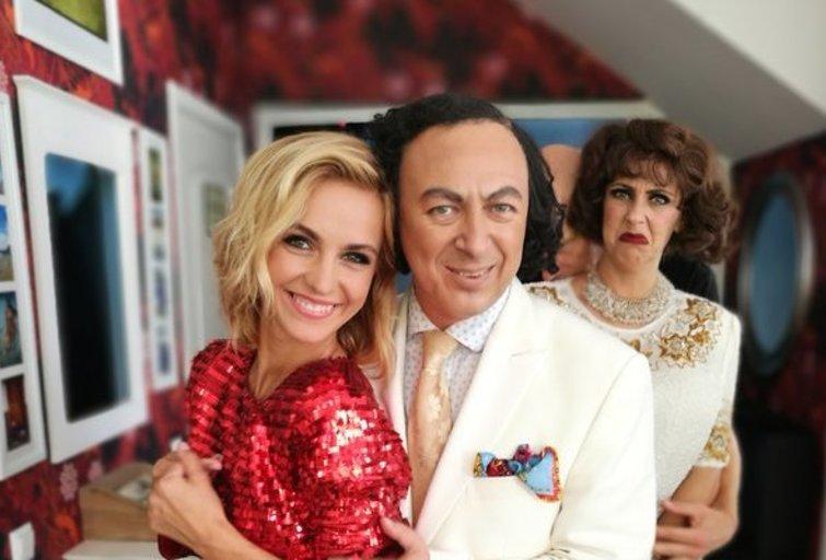 Džilda ir Orestas Vaigauskai (nuotr. TV3)