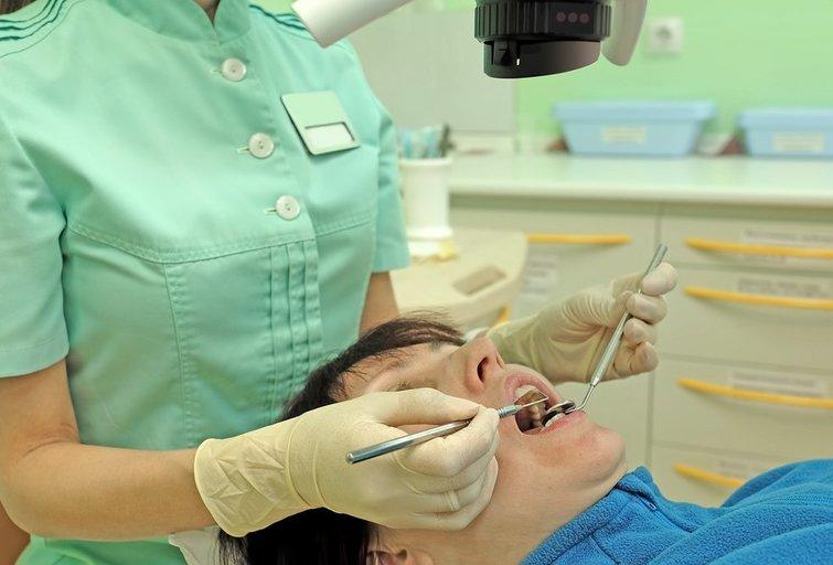 Pas odontologą (nuotr. Shutterstock.com)