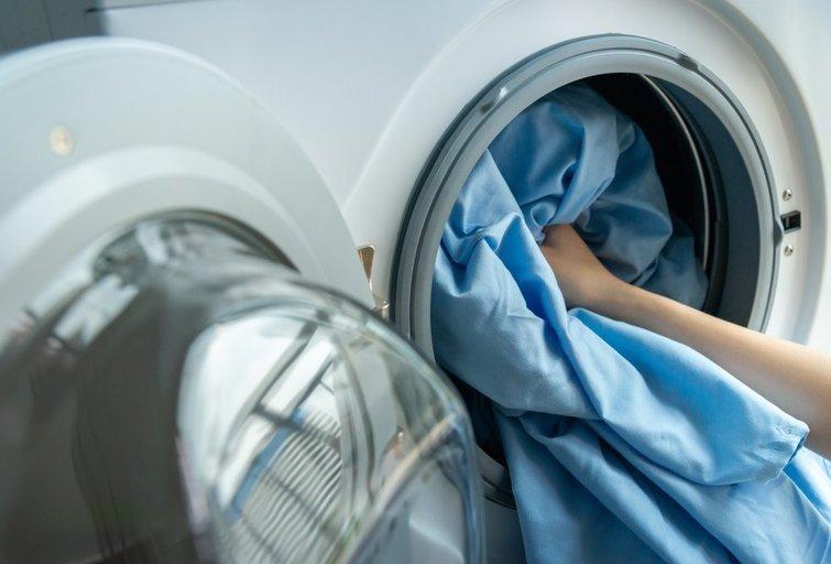 Patalynės skalbimas  (nuotr. Shutterstock.com)