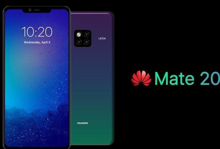 Huawei Mate 20 PRO (nuotr. YouTube)