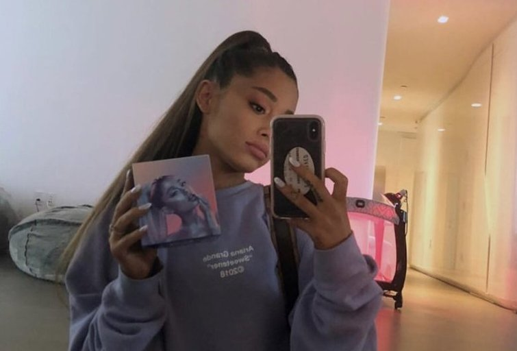 Ariana Grande (nuotr. Instagram)