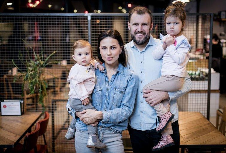 Julija Žižė su šeima (nuotr. Organizatorių)