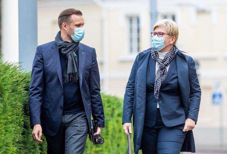 Gabrielius Landsbergis ir Ingrida Šimonytė