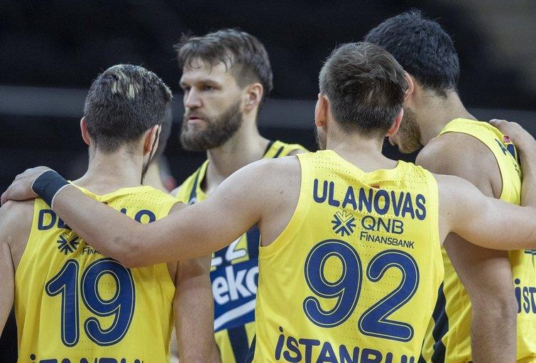 """""""Fenerbahče"""" komanda. (nuotr. Karolio Kavolėlio)"""
