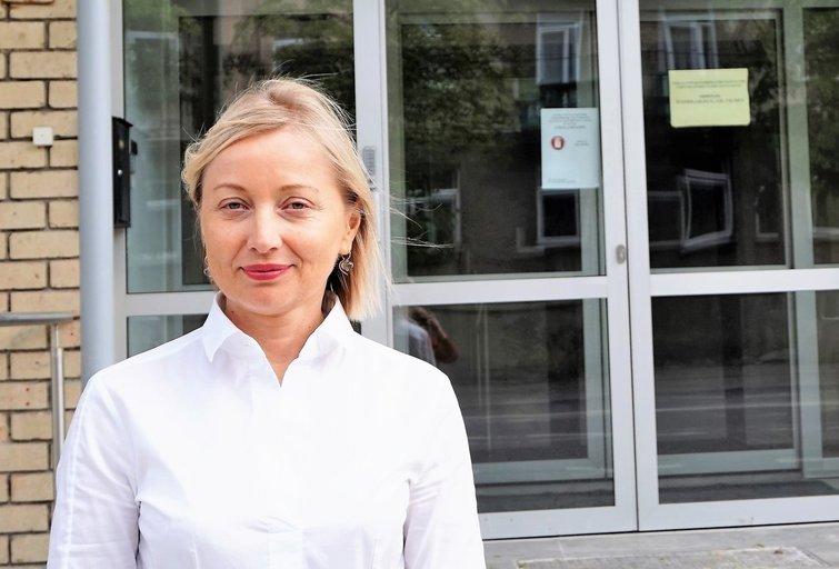 Neįgaliųjų reikalų departamento prie Socialinės apsaugos ir darbo ministerijos direktorė Eglė Čaplikienė. Aldonos Milieškienės nuotr.