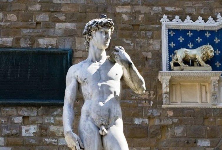 """Mikelandželo skulptūra """"Dovydas"""" (nuotr. SCANPIX)"""