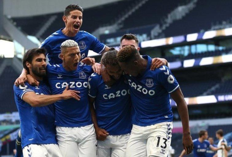 Everton futbolininkai (nuotr. SCANPIX)