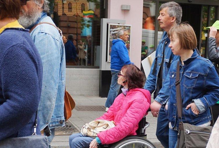 Asmeninio asistento paslauga negalią turintiems žmonėms suteikia galimybę būti savarankiškesniems, A. Babinskienės nuotr.