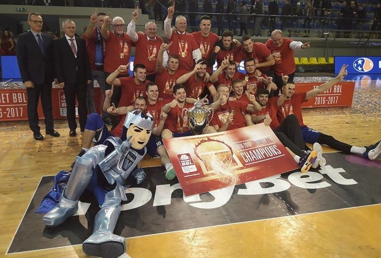 """Vytautas"" – BBL čempionas (nuotr. facebook.com)"