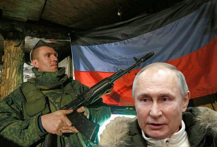 Donbaso smogikai pažėrė kaltinimų Ukrainai, nors Rusija pati eskaluoja situaciją (nuotr. SCANPIX)