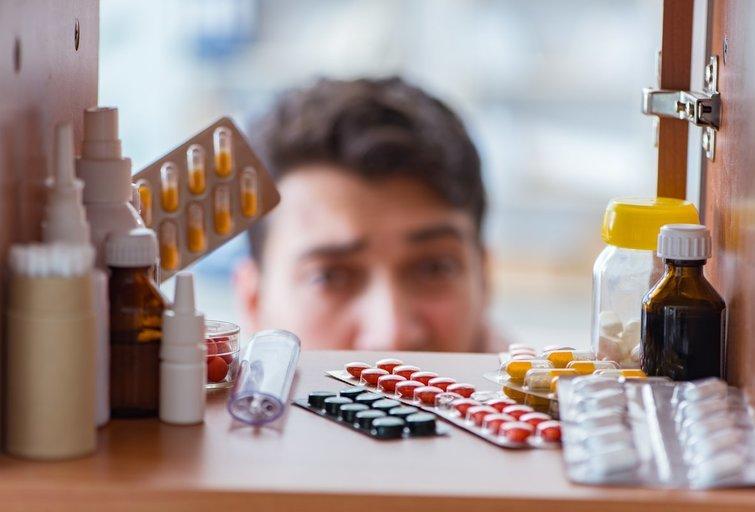 Namų vaistinėlė  (nuotr. Shutterstock.com)