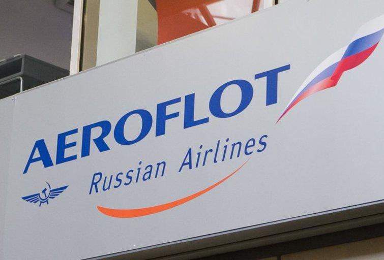 Aeroflot (nuotr. Tv3.lt/Ruslano Kondratjevo)