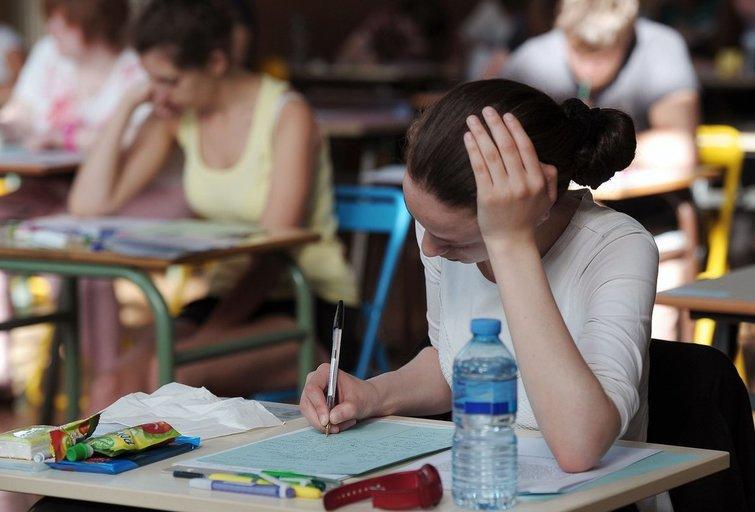 Egzaminas (nuotr. SCANPIX)