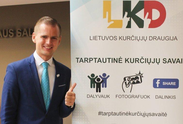 LKD prezidentas Kęstutis Vaišnora. Vaidos Lukošiūtės nuotr.