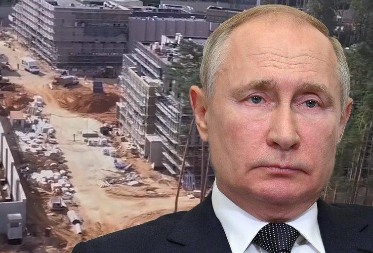 Putino užmiesčio viloje iškilo prabangus sporto kompleksas su požeminiais pastatais (nuotr. youtube.com/МБХмедиа) (nuotr. SCANPIX) tv3.lt fotomontažas