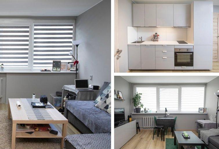Net koridoriuje esanti virtuvė gali būti patogi: interjero dizainerė parodė, kaip (nuotr. Organizatorių)