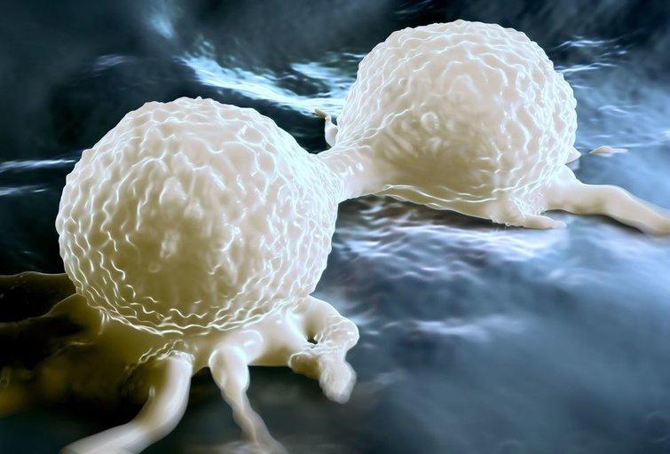 Vėžinės ląstelės  (nuotr. 123rf.com)
