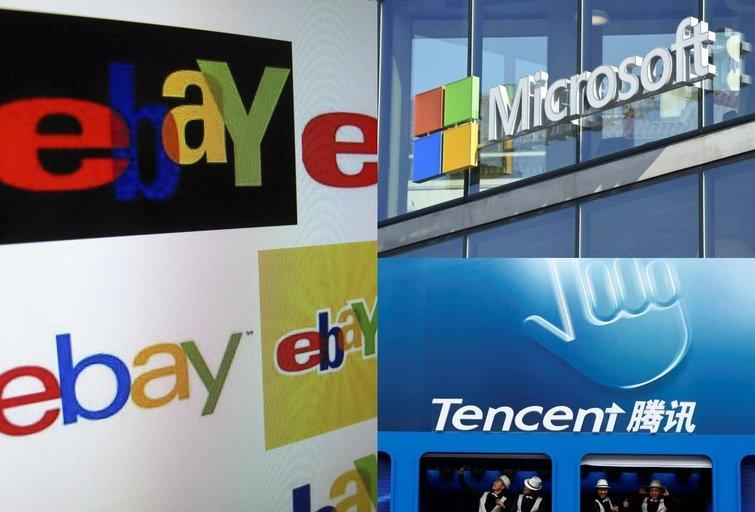 """""""Microsoft"""", """"eBay"""" ir """"Tencent"""" investuoja į brangiausią Indijos startuolį (nuotr. SCANPIX) tv3.lt fotomontažas"""