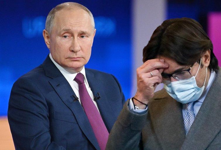Putino propaganda baigiasi katastrofa: nepadeda ir Malachovas (nuotr. SCANPIX) tv3.lt fotomontažas